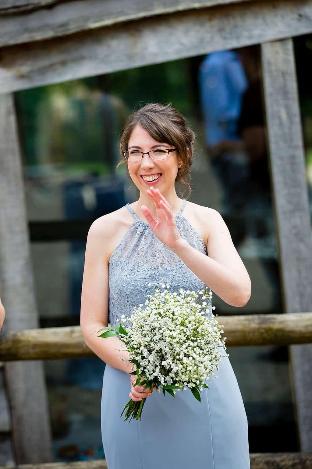 Sottero and Midgley bridesmaid