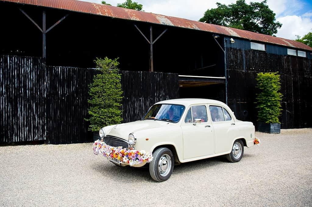 Indian wedding car