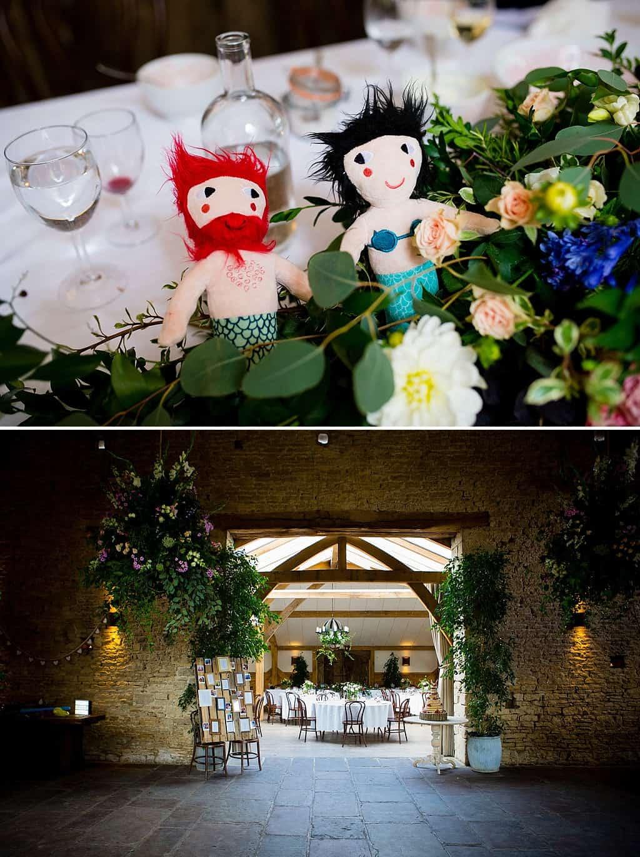 Wedding details at Cripps Barn