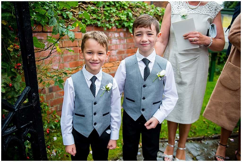 Paige boys in waistcoat