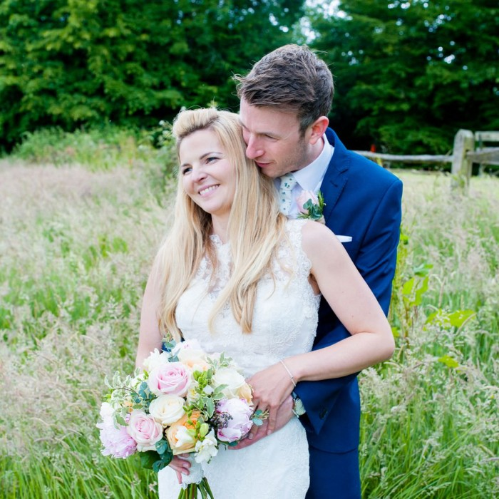 Nina & Tom - Ghyll Manor Hotel & Restaurant in Rusper, Sussex