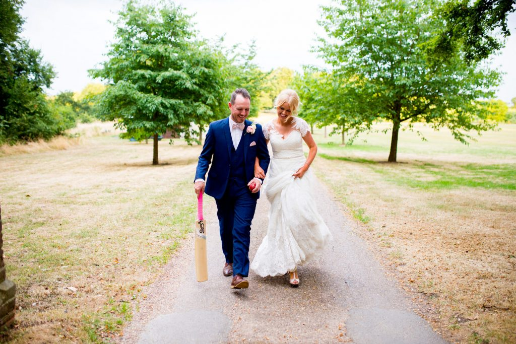 Bride and Groom Norwood park wedding photography