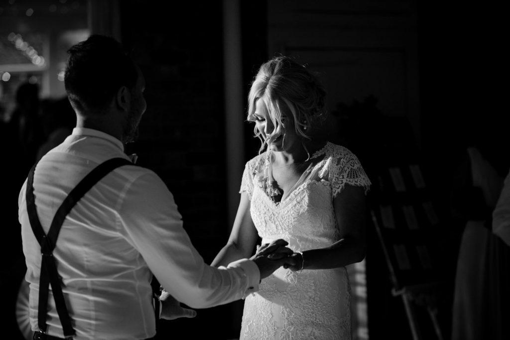 Bride for dancing
