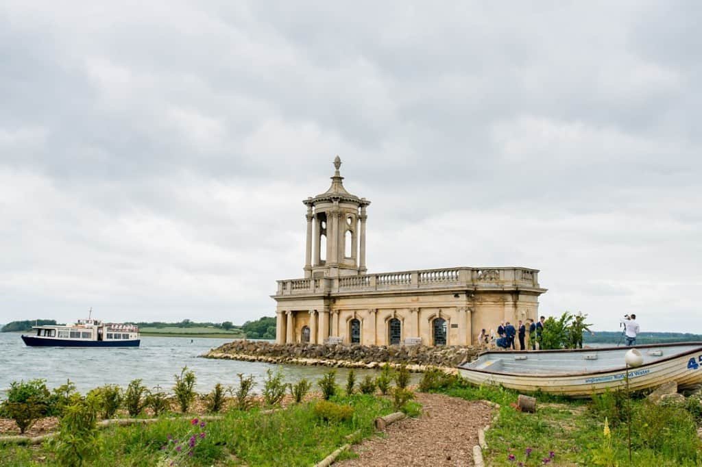 Rutland Water Normanton Church landscape