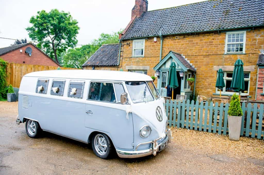 Wedding Vw campervan