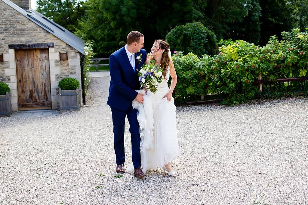 Chloe & Jack's wedding at Cripps Barn, Cotswolds