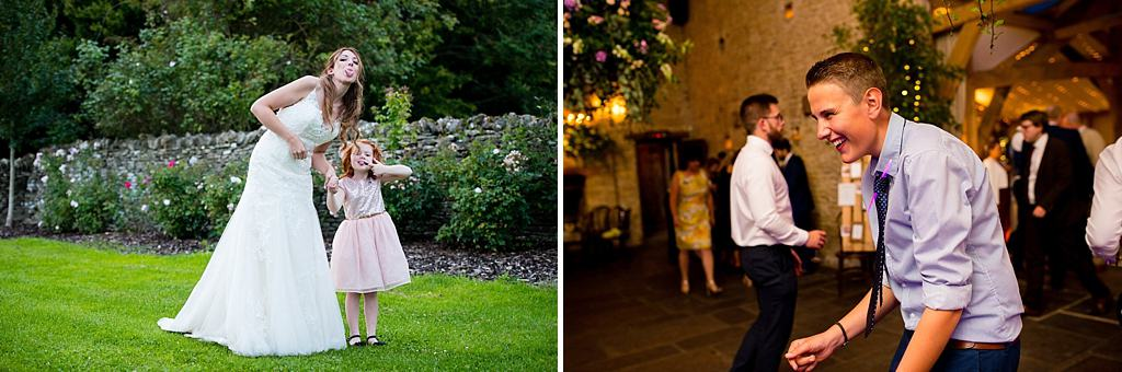 Wedding photography at Cripps barn