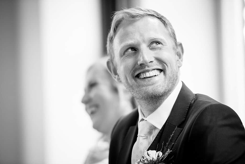 Wedding speeches at Shottle Hall