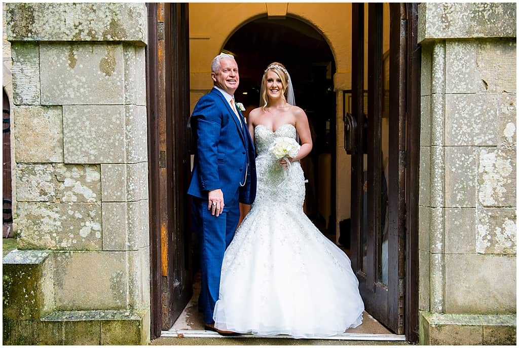 Bride at St Mary's church Blidworth
