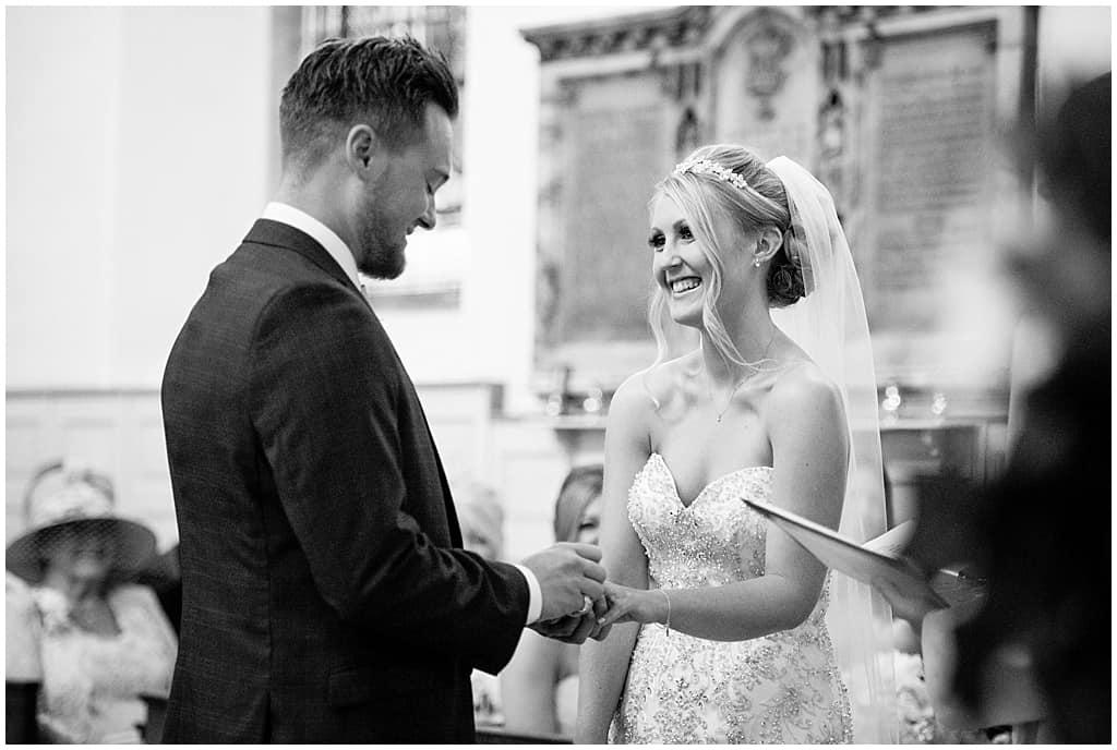 Nottinghamshire wedding ceremony