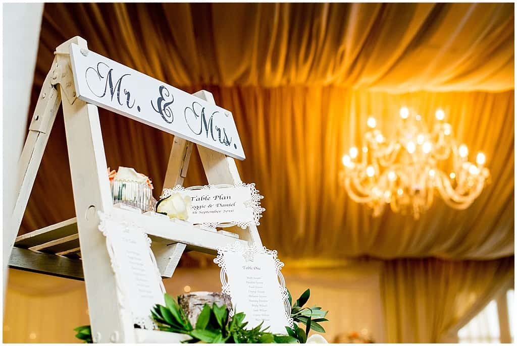 White Rose Wedding details