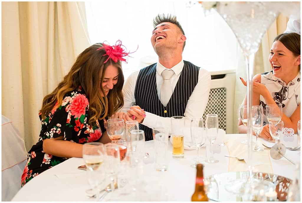 Nottingham wedding reception