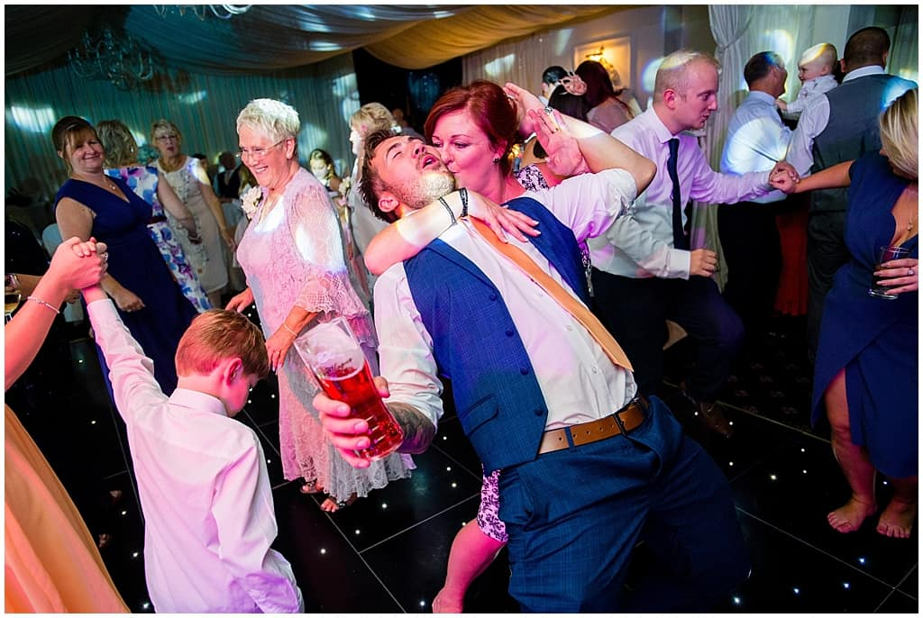 Wedding dance floor photography