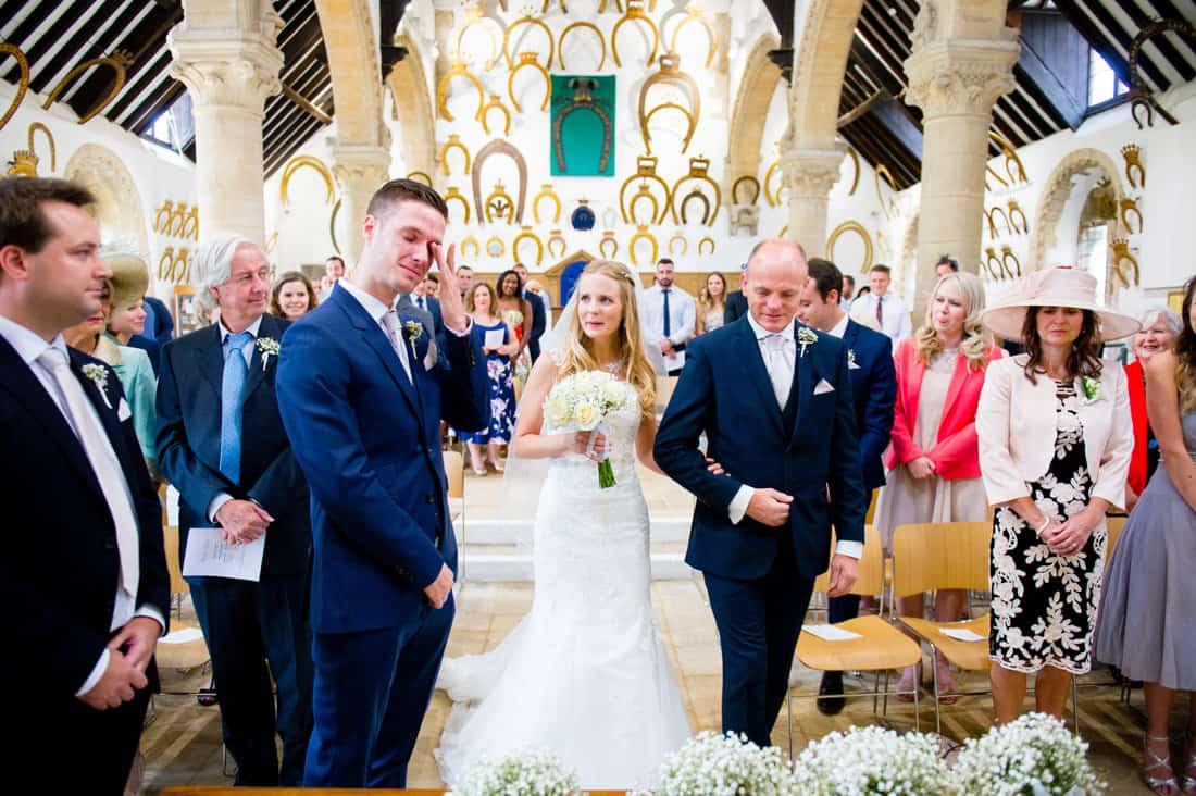 wedding photograph of a wedding ceremony