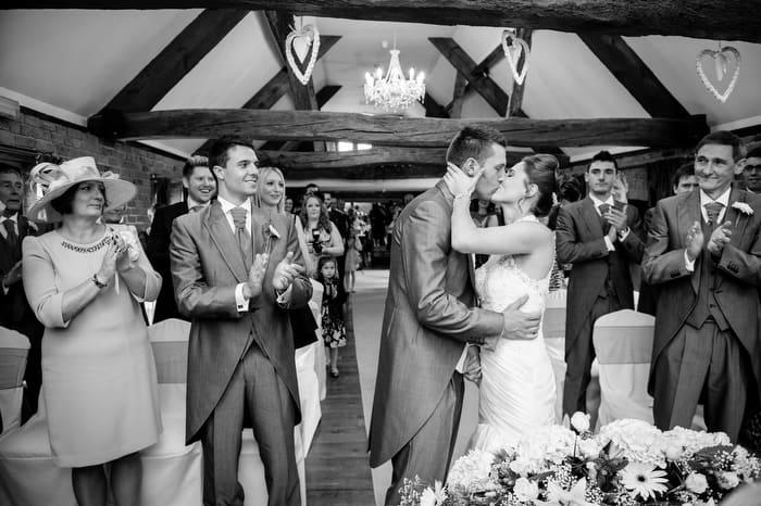Wedding at Swancar farm in Nottingham