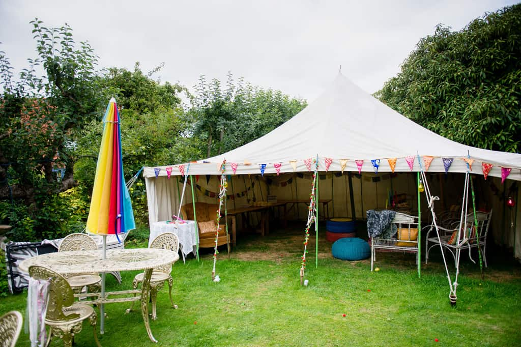 Alternative wedding Priory house