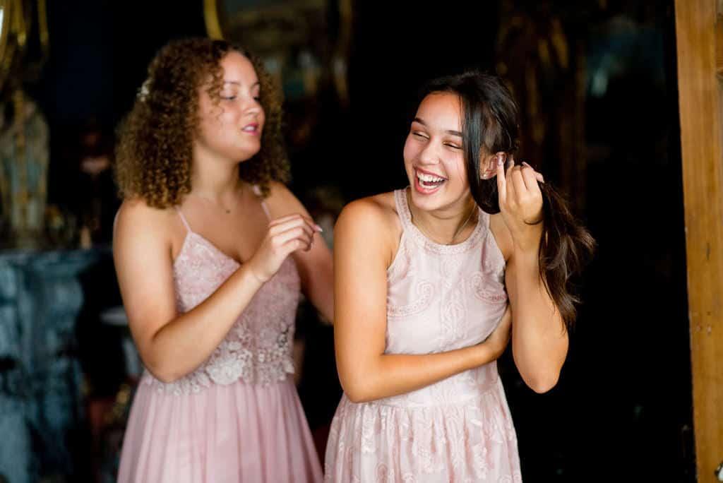 Bridesmaids at Priory House