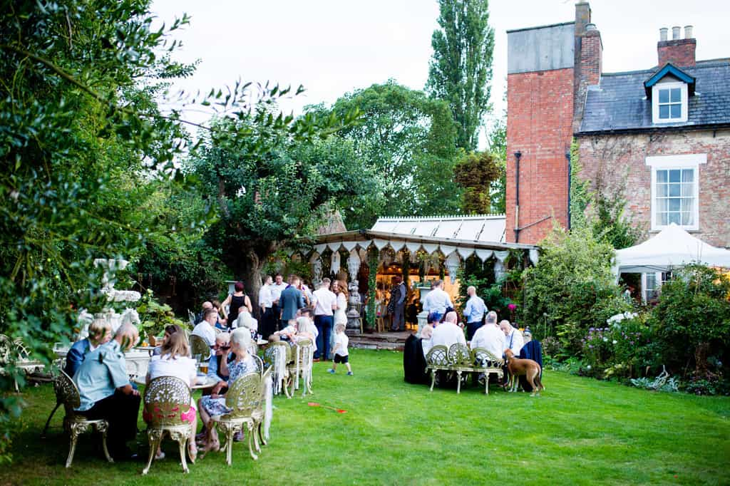 Outdoor wedding lincolnshire