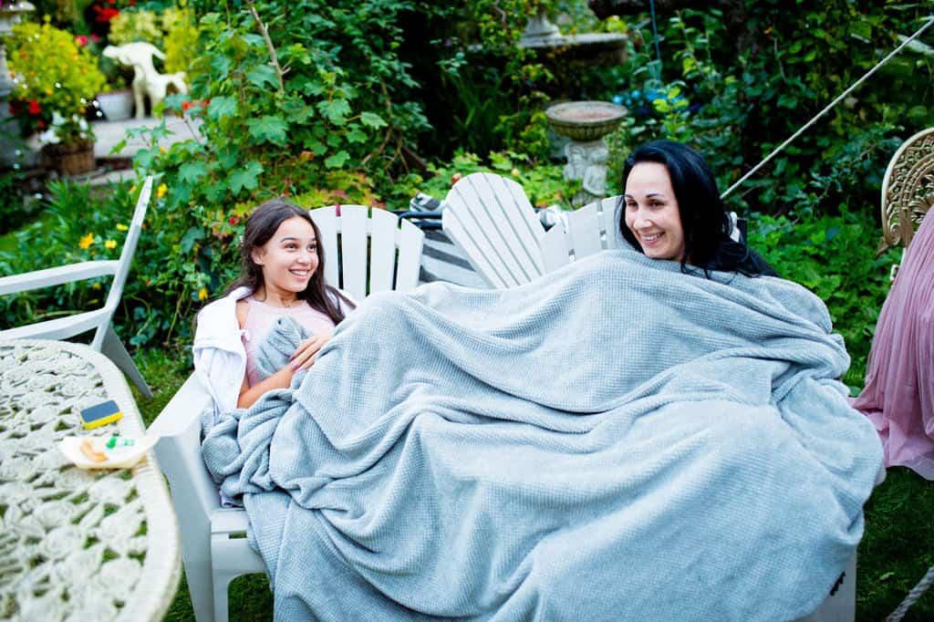 Outdoor wedding lincolnshire