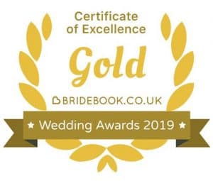Wedding photographer gold Award