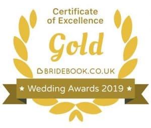 Weddinh photographer gold Award