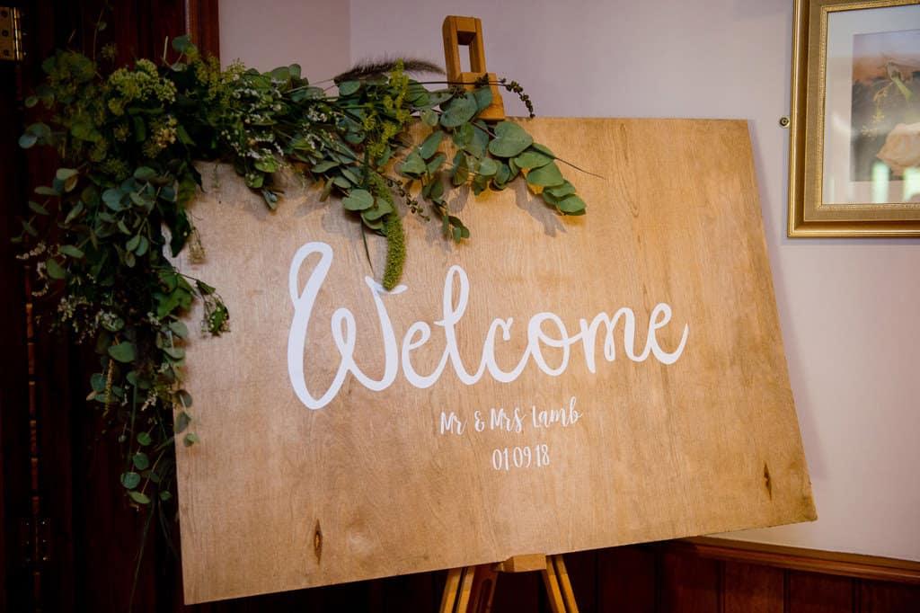 Lincolnshire woodland wedding