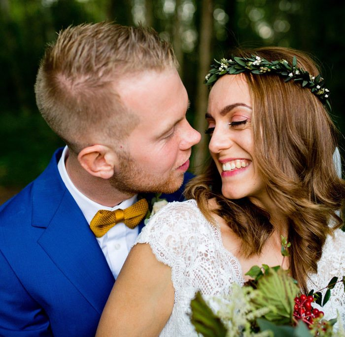 Woodland Waters, Lincolnshire wedding photographer - Sarah & Harry