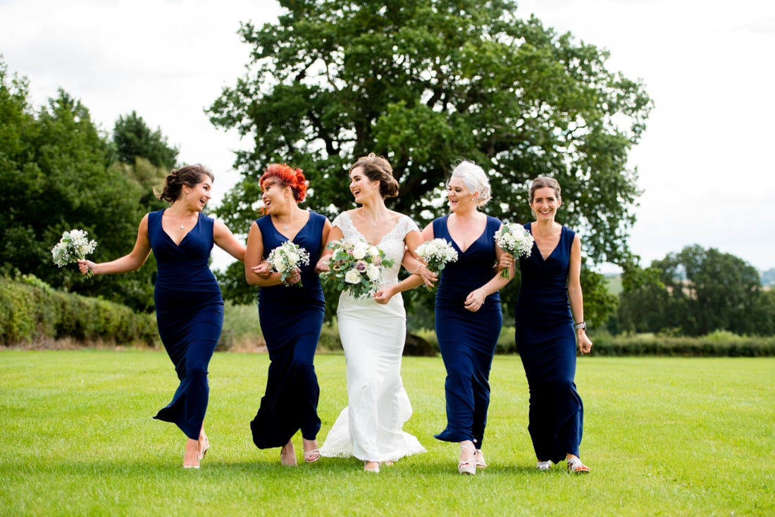 Navy Bridal group