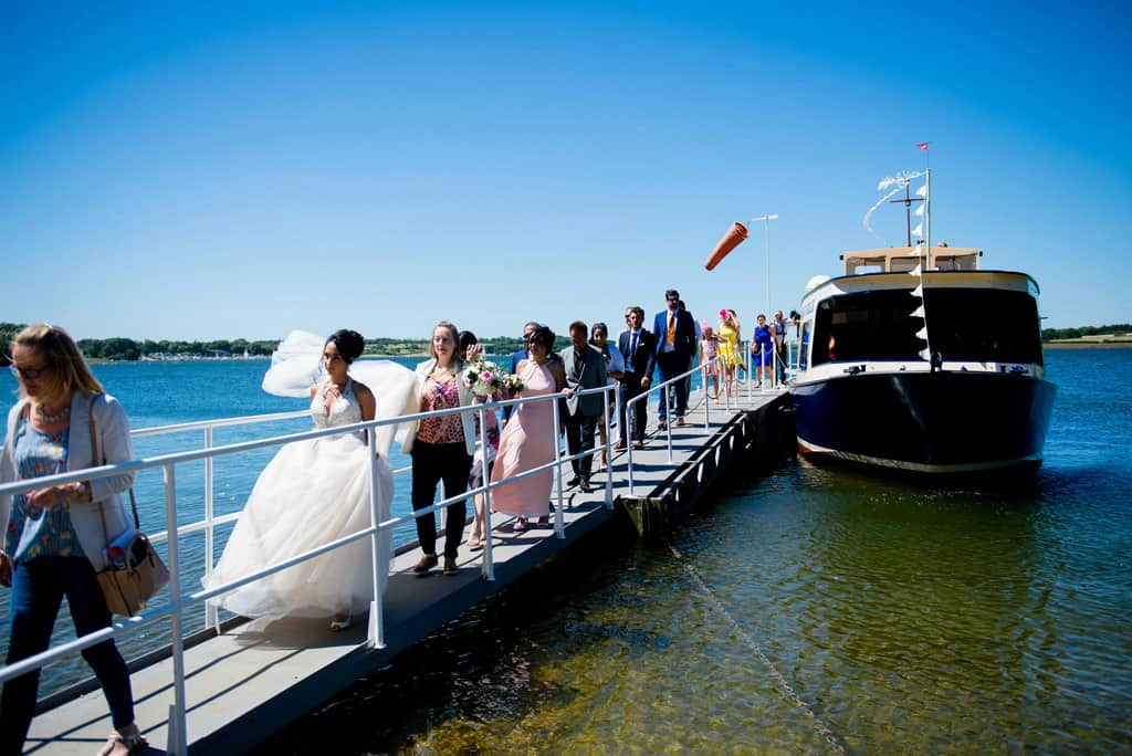 Rutland Wedding Boat