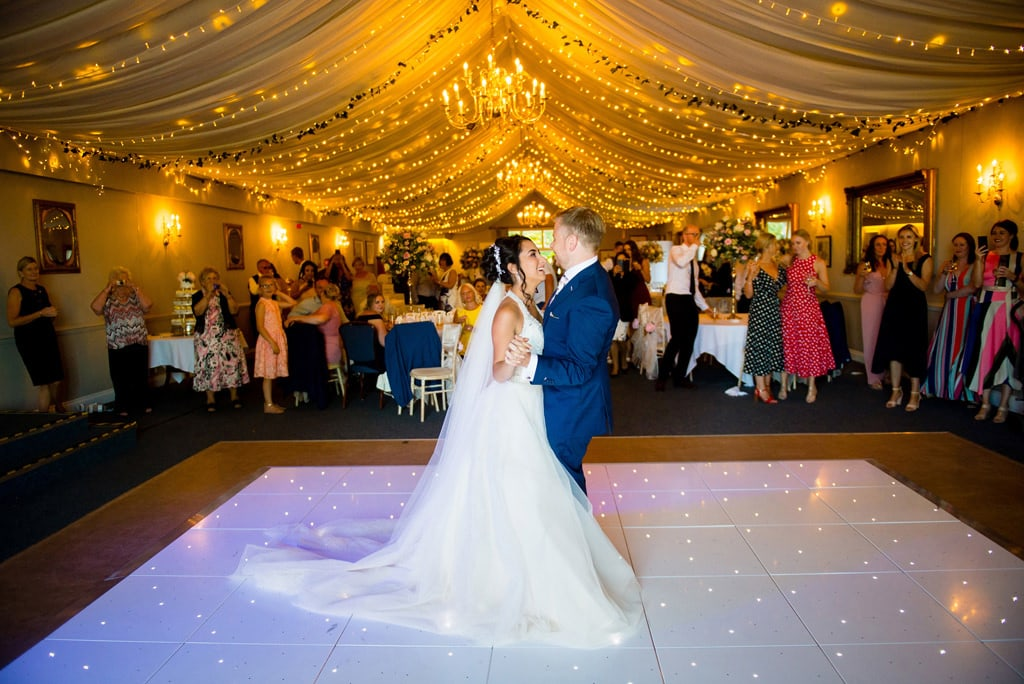 First dance at Barnsdale lodge