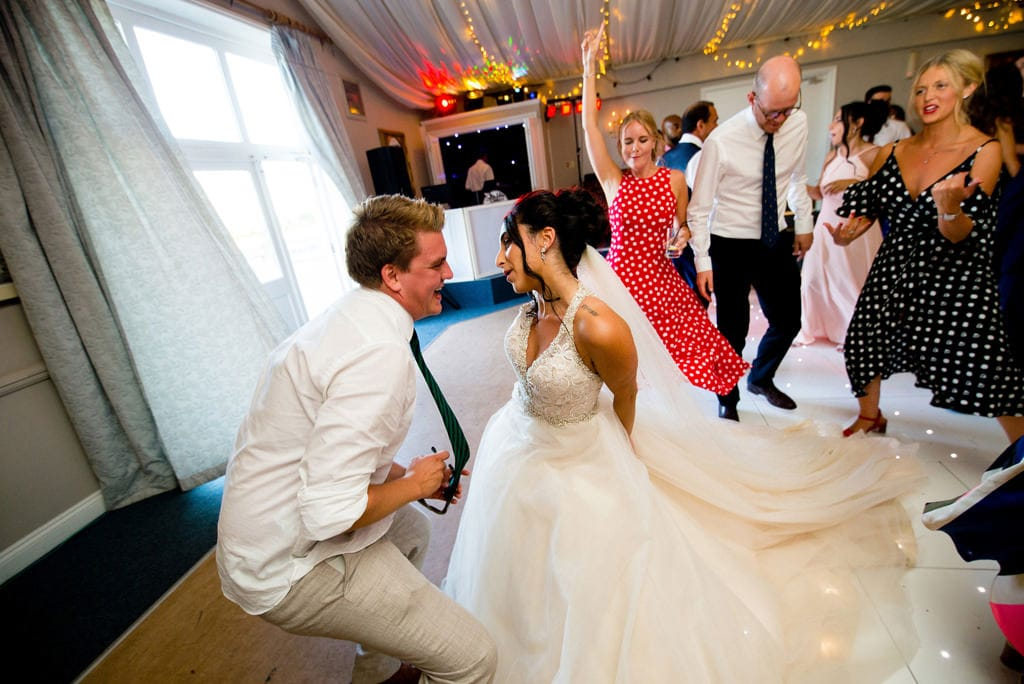 Dance floor wedding photographer