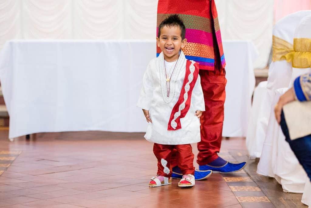 Indian Boy at a wedding
