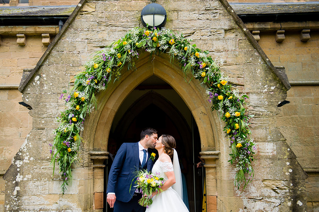 Countryside wedding in Nottingham