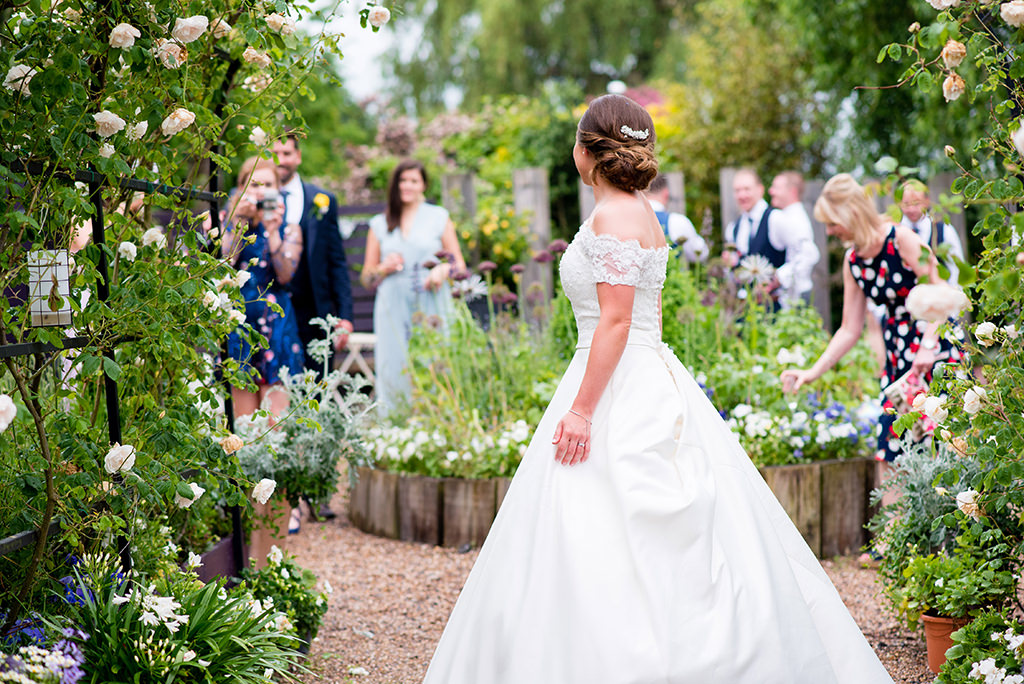 English Garden wedding