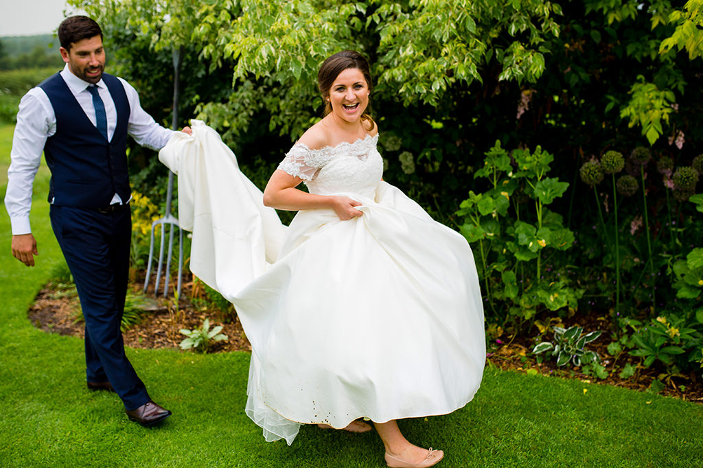 Nottingham Garden wedding