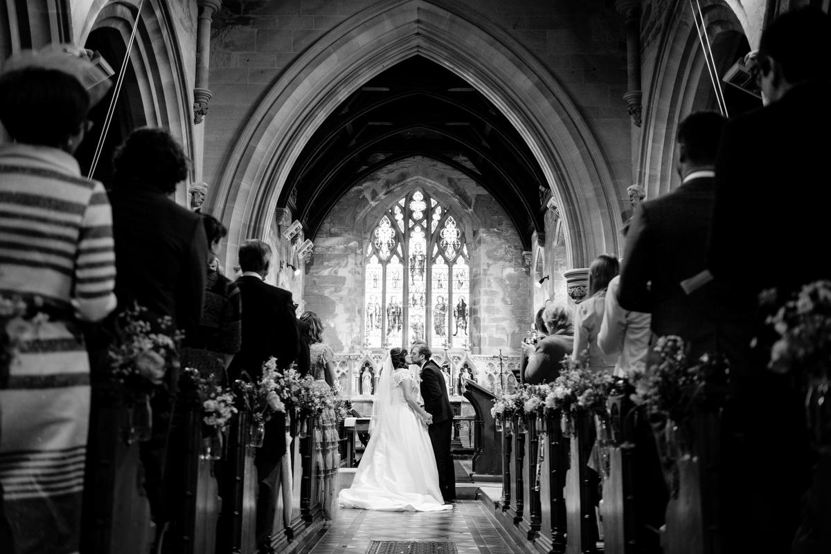 English church wedding