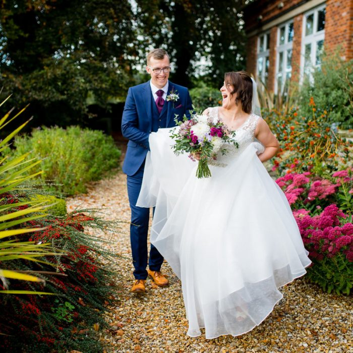 Sian & Dave's Shottle Hall Wedding Photographer