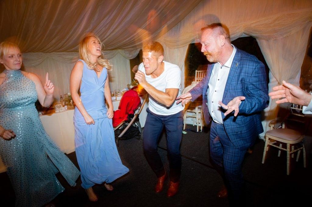 Dancing at a micro wedding